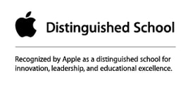 Recognized by Apple as a distinguished school for innovation, leadership, and educational excellence.